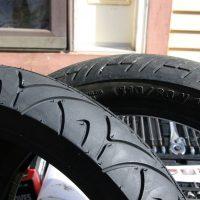 New vs. Old Tire / omninate